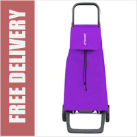 Rolser Jet 2 Wheel Shopping Trolley Purple